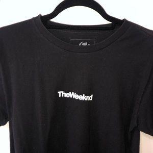 Tops - The Weeknd Black T-Shirt